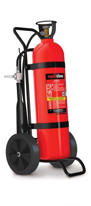 Sarkans ogļskābās gāzes ugunsdzēsības aparāts 20