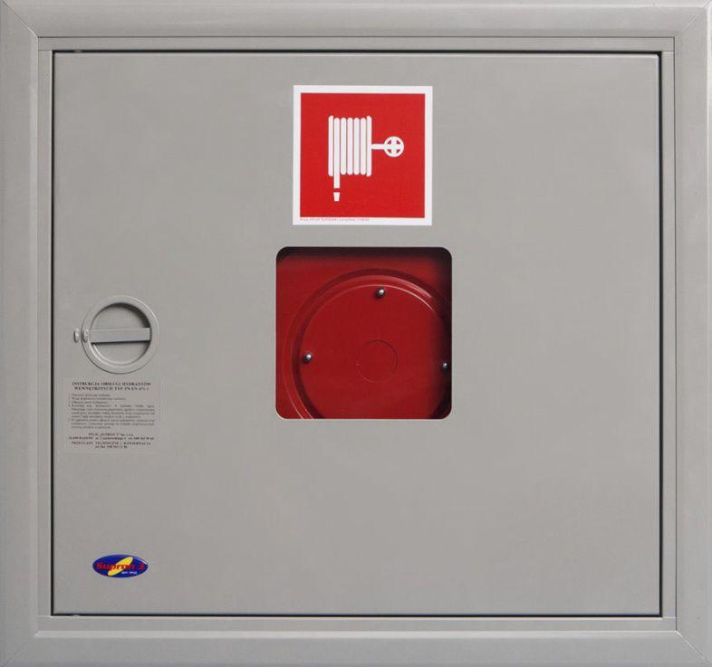 Balta ugunsdzēsības krānu kaste ugunsdrošības inventāram