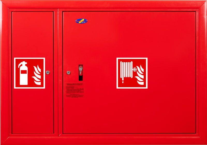 Sarkans krānu kastes cietais komplekts aizvērts 1