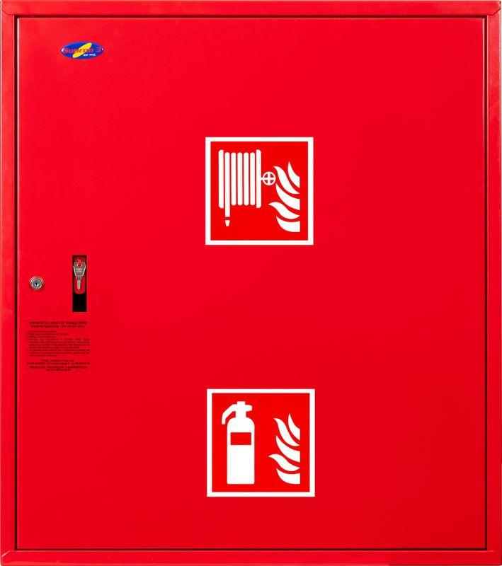 Sarkans vertikālās krānu kastes komplekts aizvērts
