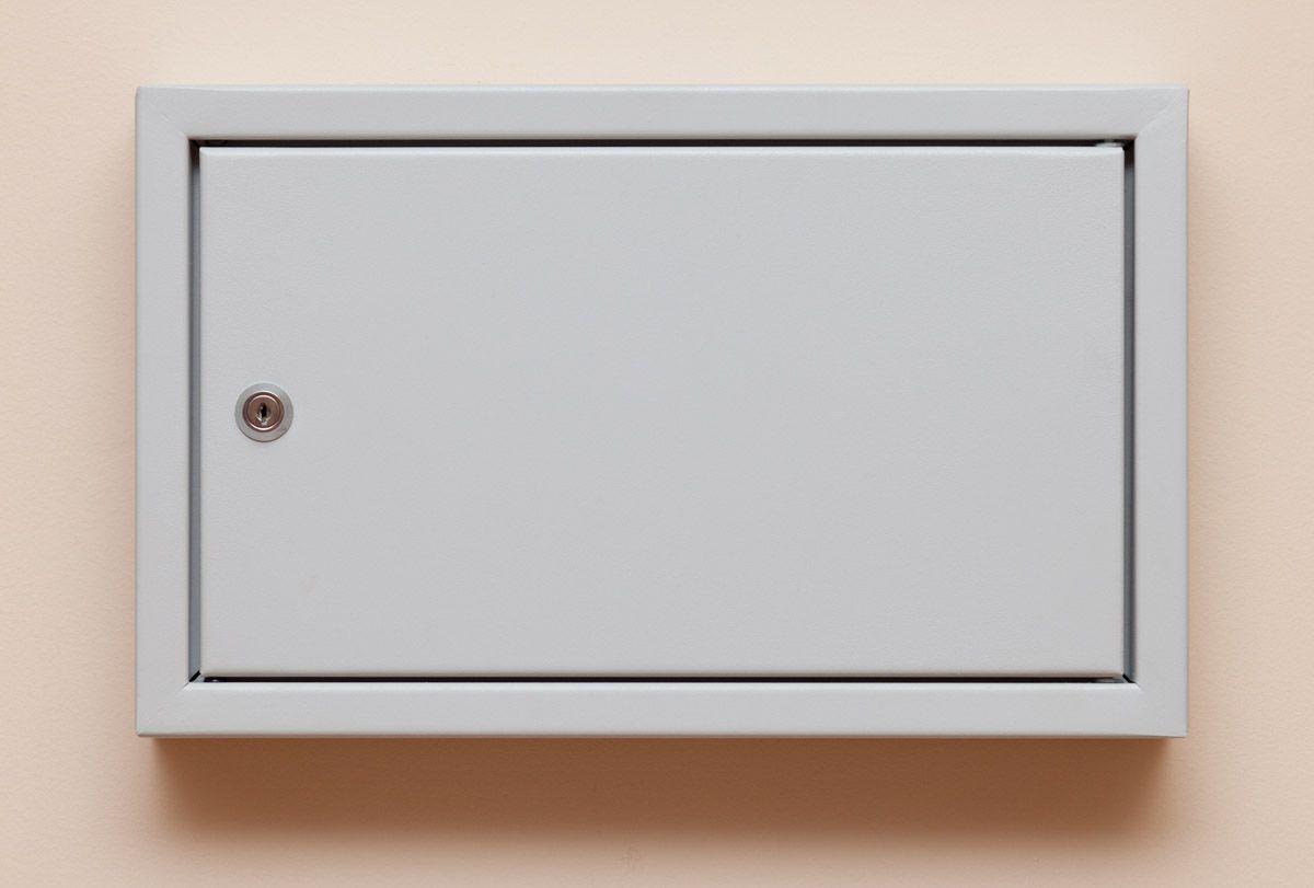 Metāla atslēgu kastīte