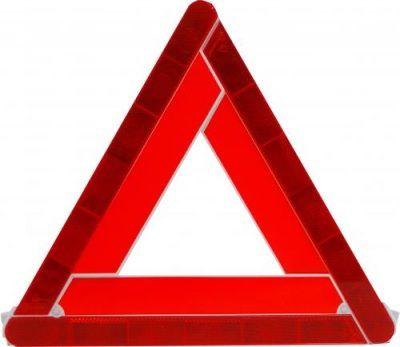 Sarkans avārijas trijstūris ce