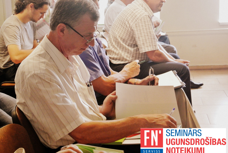 Lapa fn serviss seminārs ugunsdrošības noteikumi 2