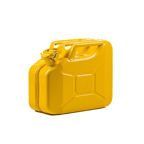 Dzeltena degvielas kanna 10