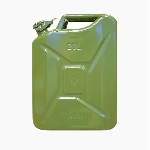 Zaļa degvielas kanna