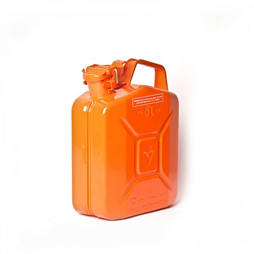 Oranža degvielas kanna 5