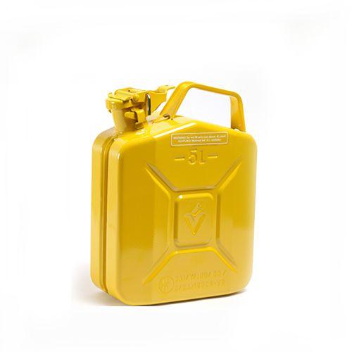 Dzeltena degvielas kanna 5
