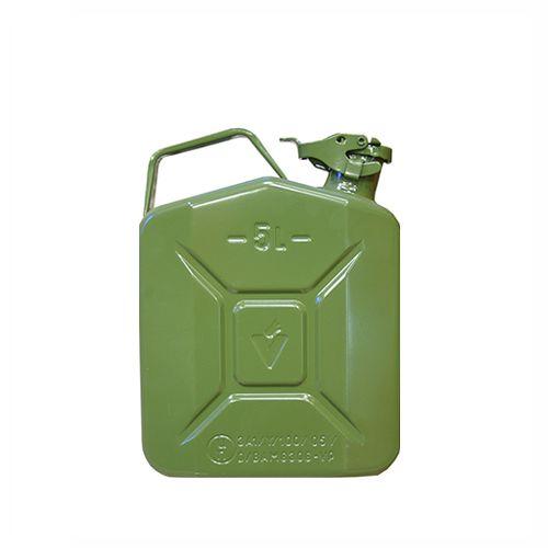 Zaļa degvielas kanna 5