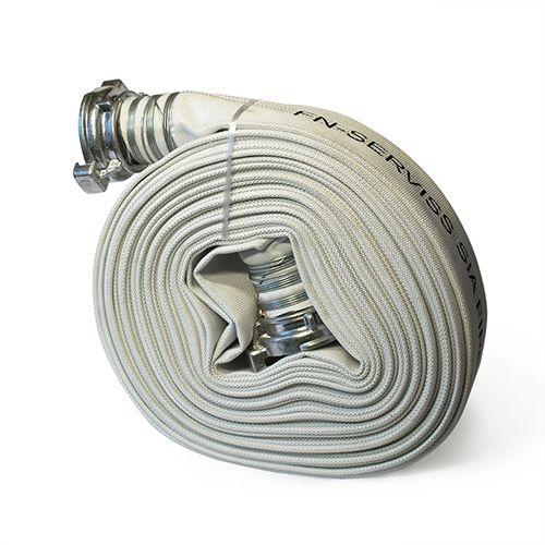 Balta PVC ugunsdzēsības šļūtene