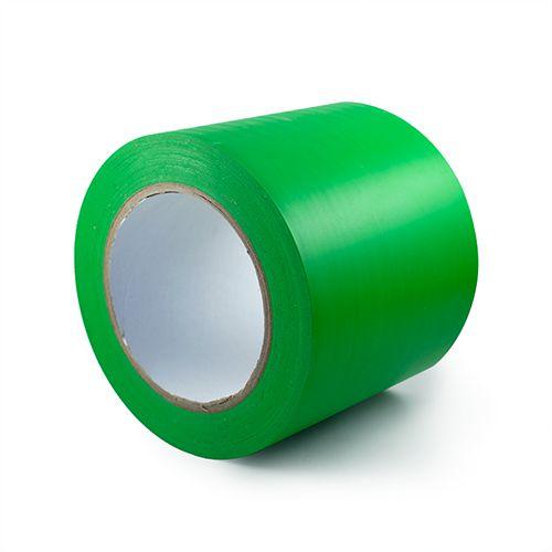 Zaļa fotoluminiscējoša lente zaļa