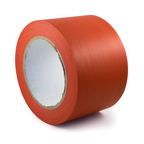 Sarkana fotoluminiscējoša lente sarkana