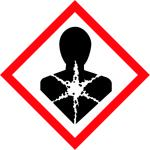 balta brīdinājuma uzlīme - toksiska viela eplceļi