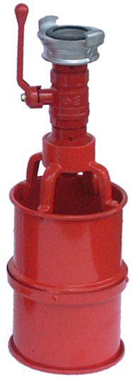 Sarkans ugunsdzēsības putu ģenerātors ar sviru