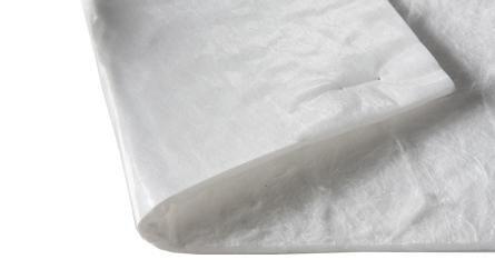 balts hidrofobs absorbējošs paklājs rullī