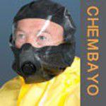 melna vienreizējas lietošanas ķīmiskā evakuācijas maska