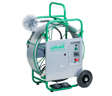 LIFA SPECIALCLEANER 20 - LIFA AIR ventilācijas sistēmu tīrīšanas iekārta