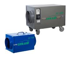 LIFA gaisa uzsūcēji / gaisa attīrīšanas iekārtas