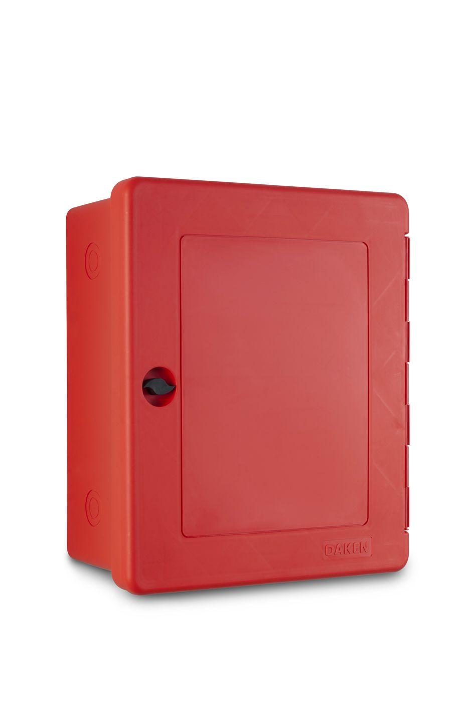 Sarkana multifunkcionāla plastikāta kaste