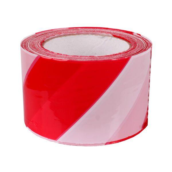 Sarkanbalta drošības lente 3