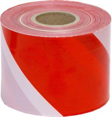 Sarkanbalta drošības lente