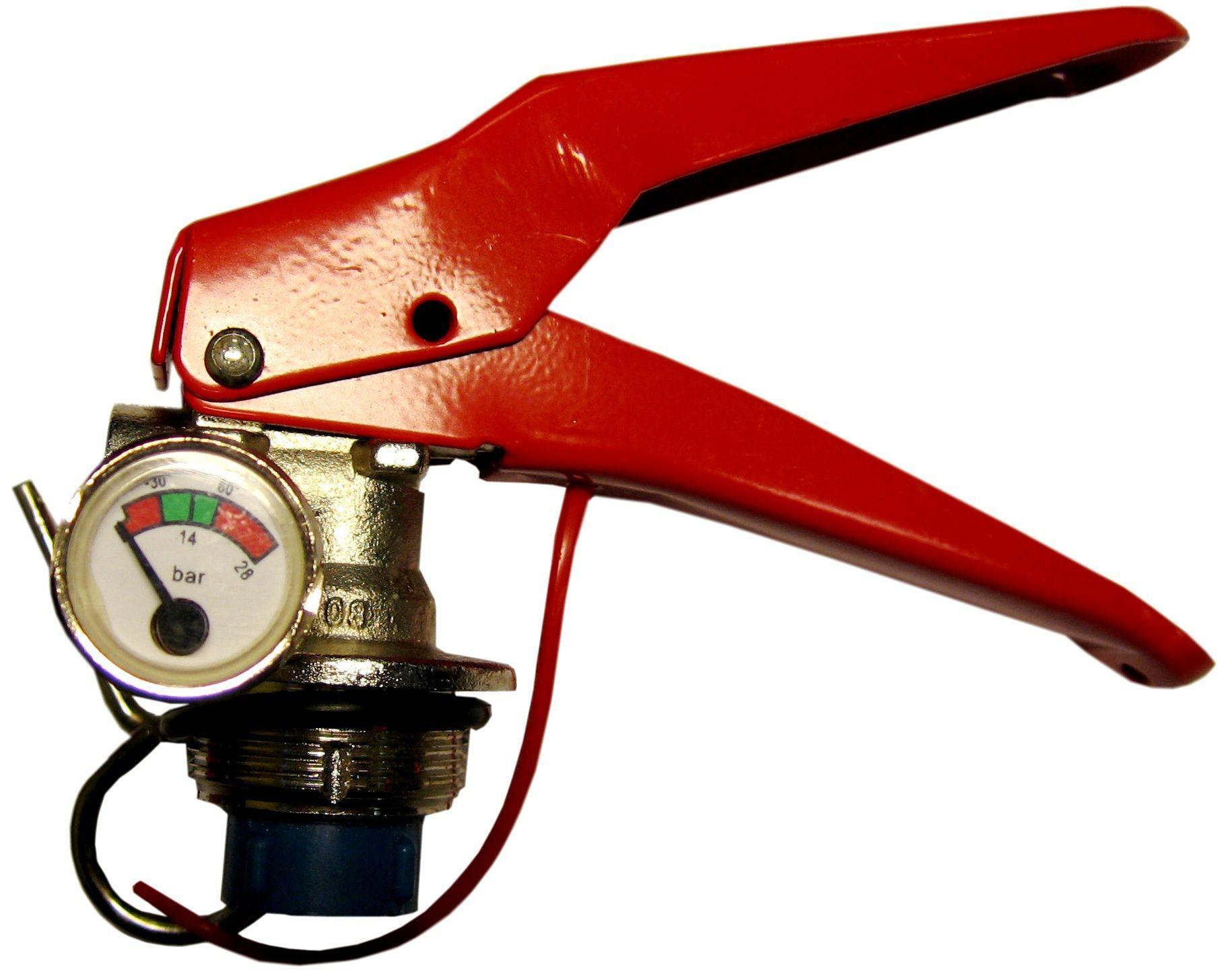 pulvera ugunsdzēsības aparāta palaišanas mehānisms 3