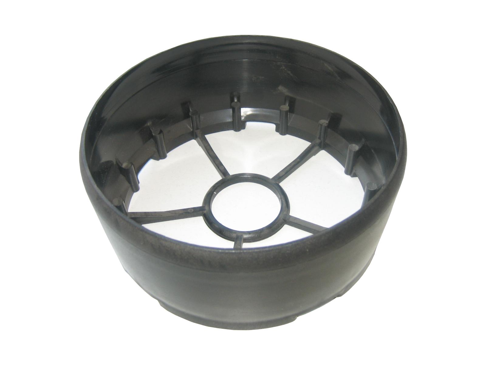melna pulvera ugunsdzēsības aparāta pamatne