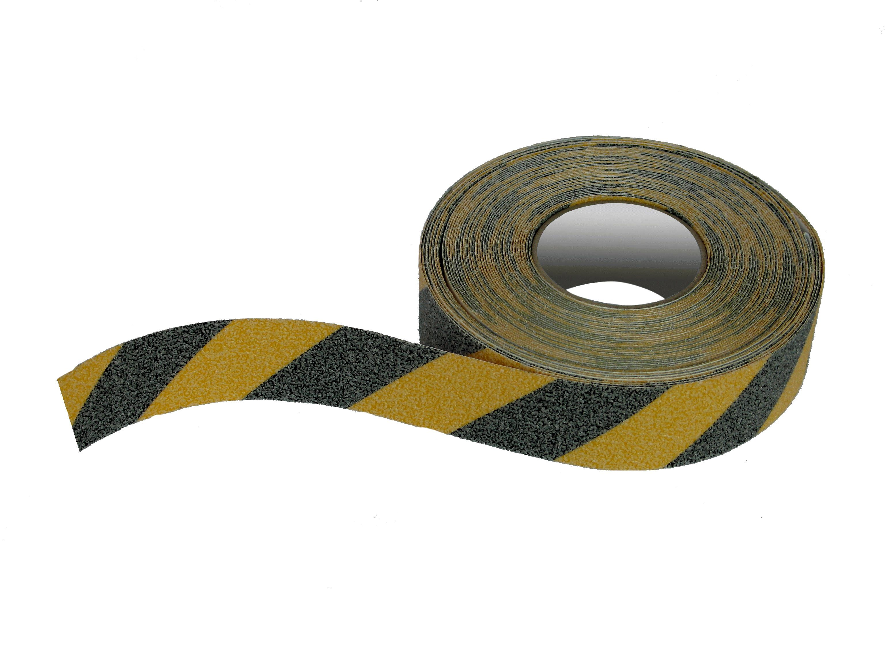 melna dzeltena drošības pretslīdes lente