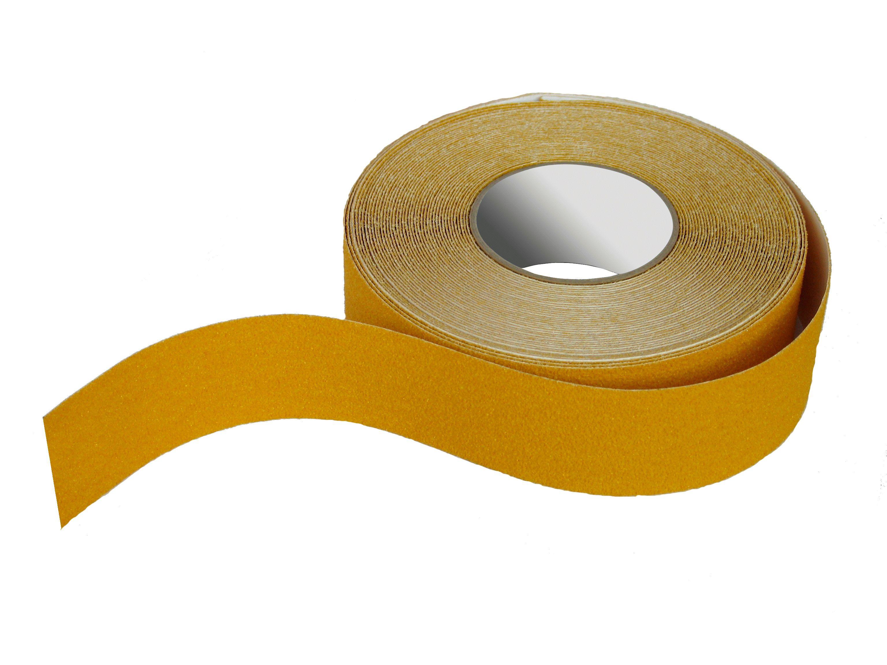 dzeltena drošības pretslīdes lente