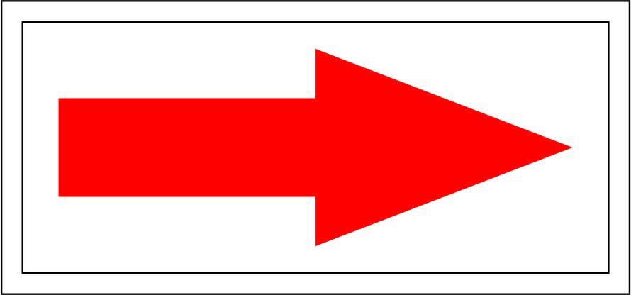 Uzlīme privātīpašums sarkana bulta
