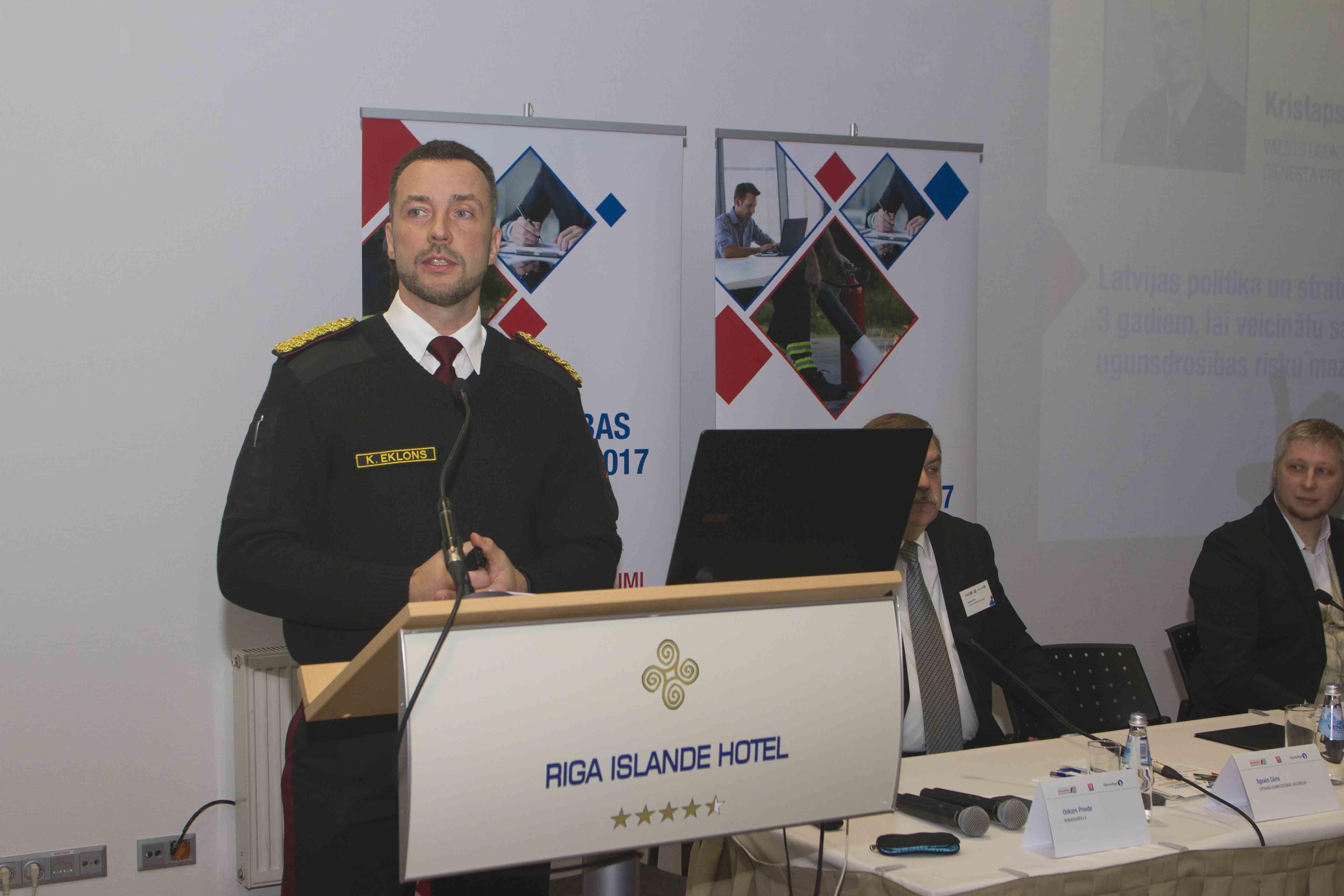 Lapa fn serviss ugunsdrošības konference 2017