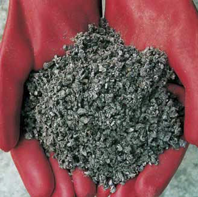 melns universāls beramais absorbents