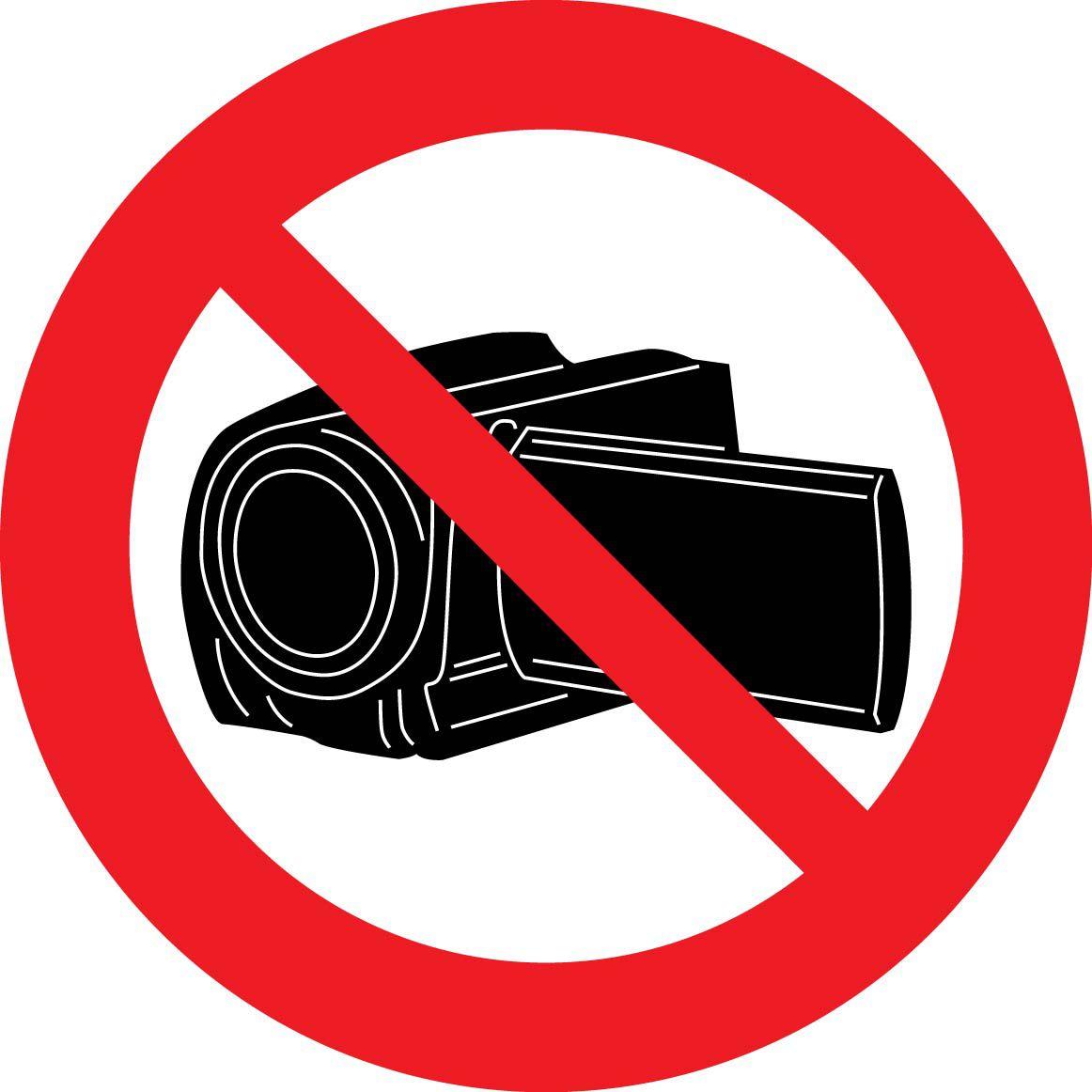 Uzlīme filmēt aizliegts