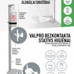 VALPRO bezkontakta statīvs higiēnai