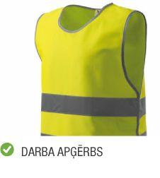 Produktu kategorija aizsardzības līdzekļi darba apģērbs