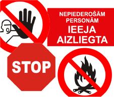 Aizlieguma zīmes