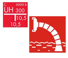 Ugunsdzēsības hidrantu plāksnes