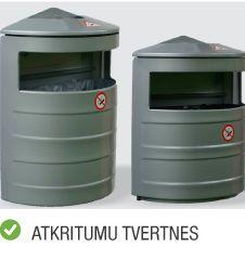 Produktu kategorija cita prece atkritumu tvertnes