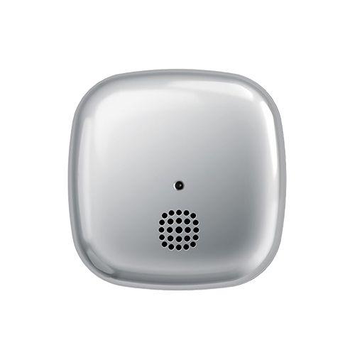 Hromēts dūmu detektors kastītes formā