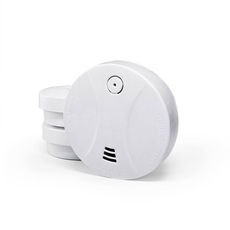 Balti dūmu detektori 3 gb