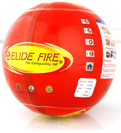 Sarkana ugunsdzēsības bumba elide