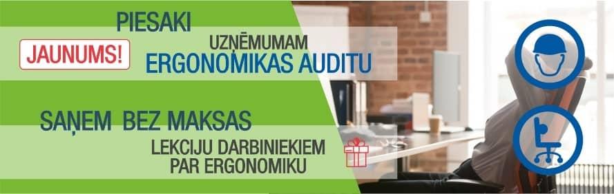 Īpašais piedāvājums janvārī - Ergonomikas audits