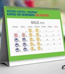 Kursu un semināru kalendārs