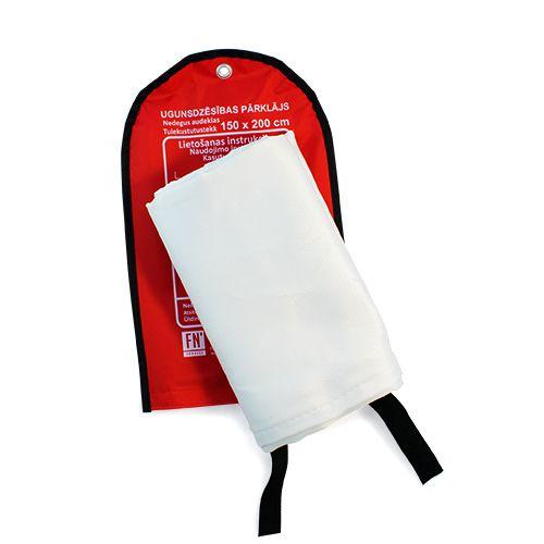 Sarkana soma ar baltu ugunsdzēsības pārklāju 150