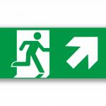 Luminiscējoša uzlīme un zīme