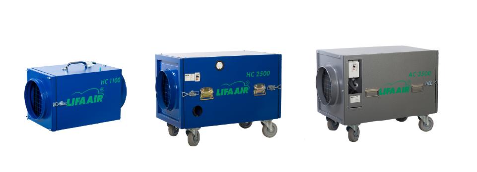 Produktu kategorija lifa ventilācijas sistēmas