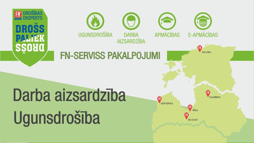 Īpašais piedāvājums - FN-SERVISS pakalpojumi