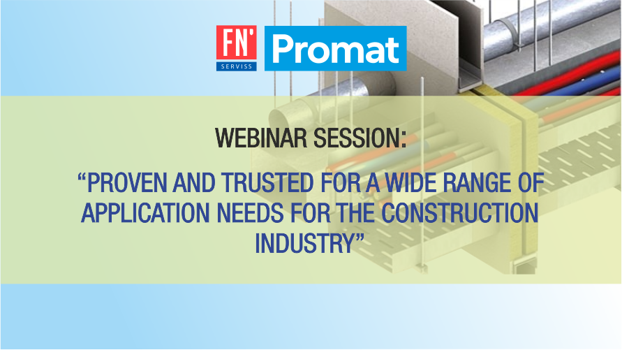 Webinar session: Promat passive fire safety solutions