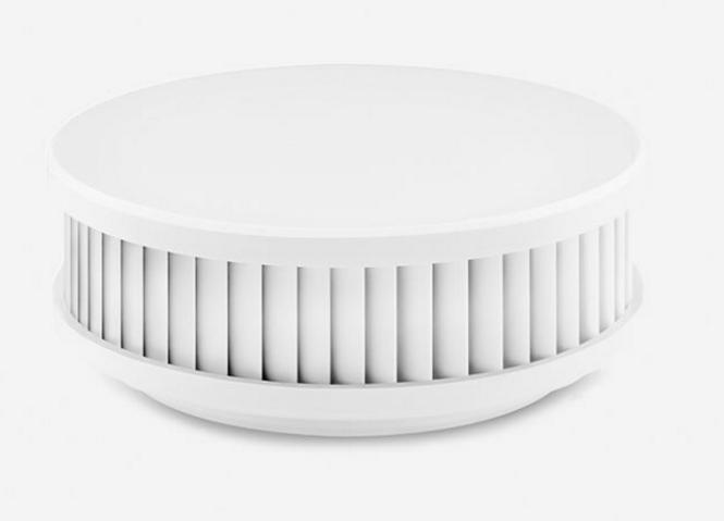Balts lokālais dūmu detektors