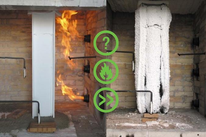 Lapa informācija par tērauda konstrukciju ugunsaizsardzību