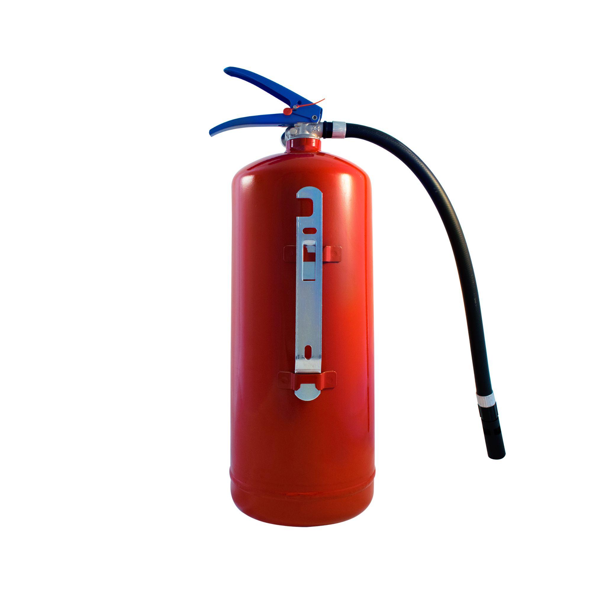 Sarkans ūdens putu ugunsdzēsības aparāts